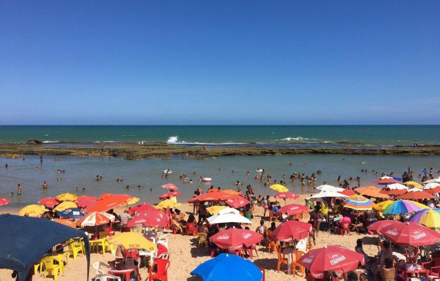 [Boletim do Inema confirma balneabilidade das praias da Costa de Camaçari]