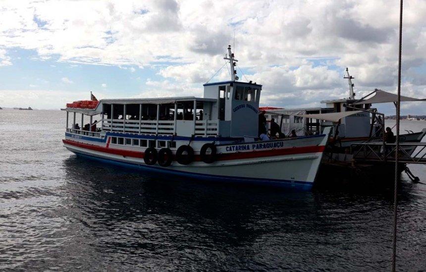 [Travessia Salvador-Mar Grande opera com oito embarcações nesta terça]