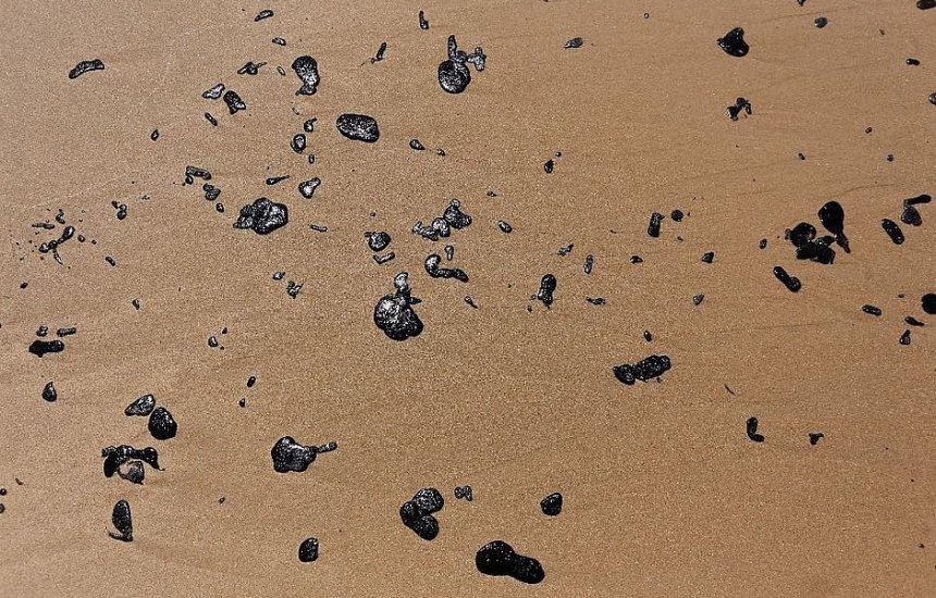 Voluntários retiram grandes resíduos de óleo, mas poluição persistirá por anos