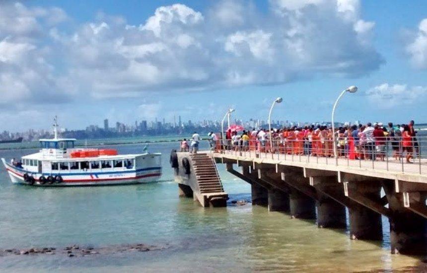 [Travessia Salvador-Mar Grande tem fluxo tranquilo e saídas a cada 30 min]