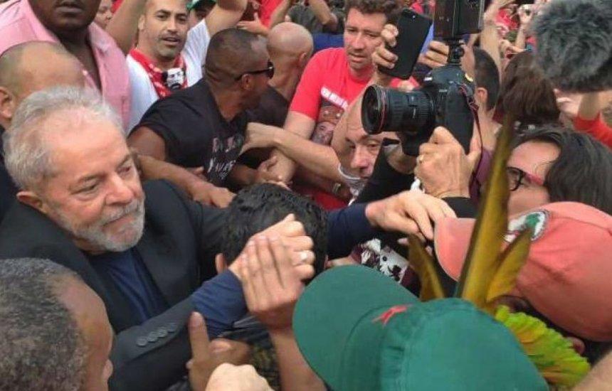 Ex-presidente Lula chega a Salvador nesta quinta-feira