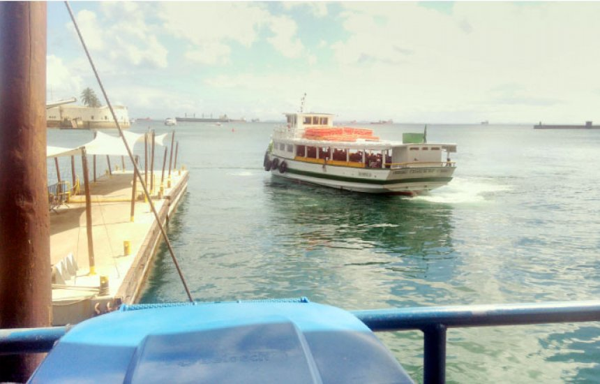 Travessias para Mar Grande e Morro de São Paulo tem fluxo moderado de passageiros