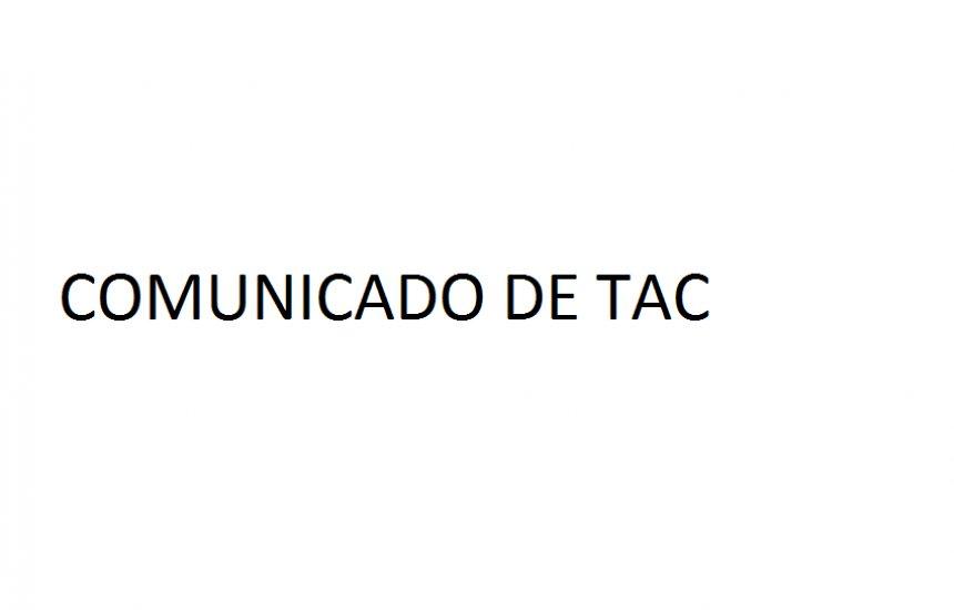 [Comunicado TERMO DE COMPROMISSO DE AJUSTAMENTO DE CONDUTA]