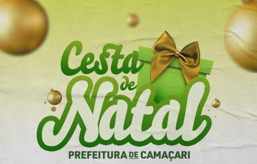 [Prefeitura de Camaçari garante cesta de Natal para população carente]