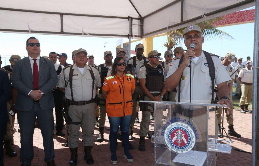 Operação Verão reforça segurança com 25 mil policiais e bombeiros