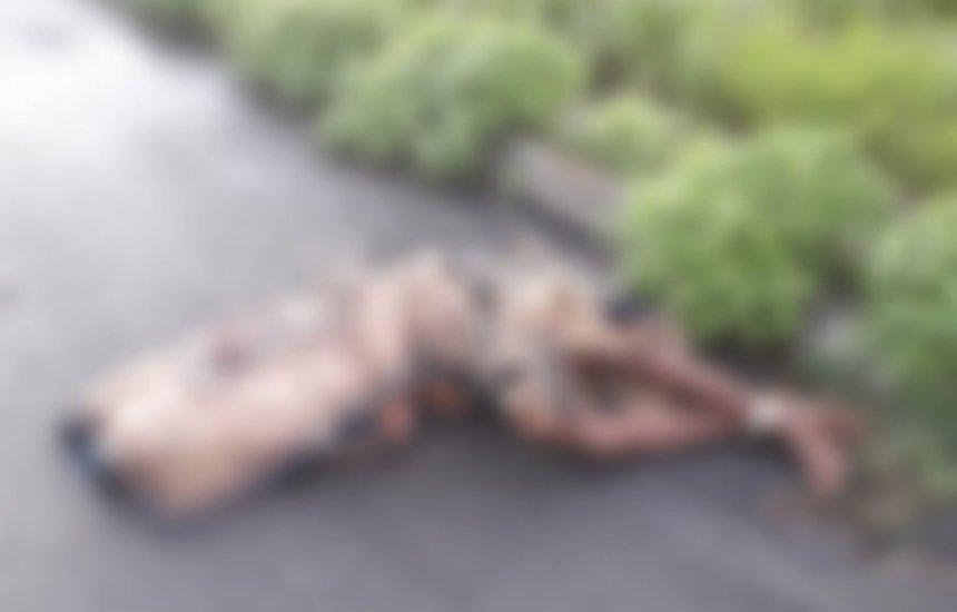 Corpo enrolado em tapete e com os pés amarrado é encontrado em Simões Filho