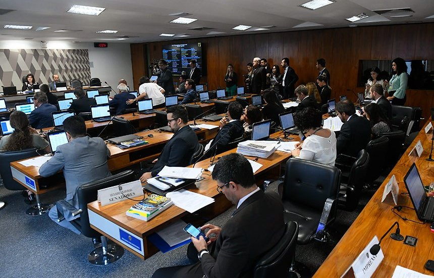 [CCJ confirma aprovação de projeto que permite prisão após segunda instância]