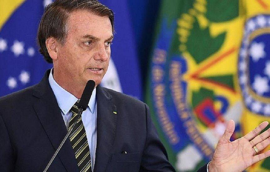 [Bolsonaro: coleta manual de assinaturas até março para criar sigla 'será difícil']