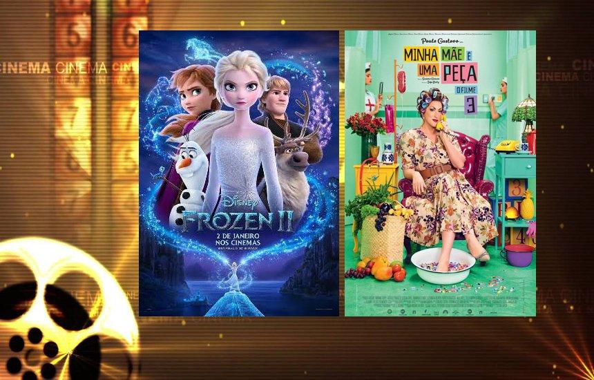 [Frozen 2 e Minha Mãe é uma Peça 3 continuam em cartaz no cinema]