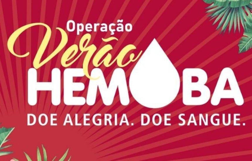 [Hemoba promove campanha para atrair doadores e manter estoque estável]