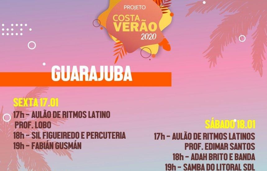 Costa de Camaçari recebe programação diversificada neste final de semana