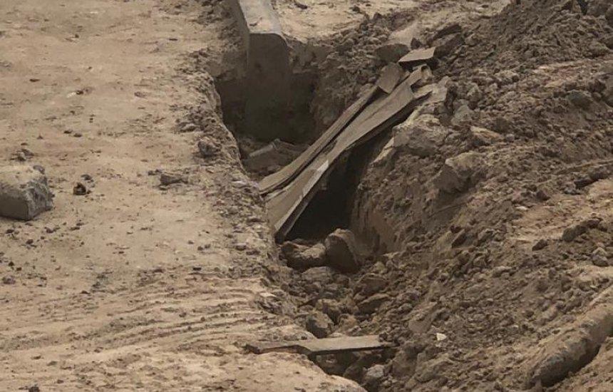 Comerciante reclama de obra da Prefeitura que não foi concluída