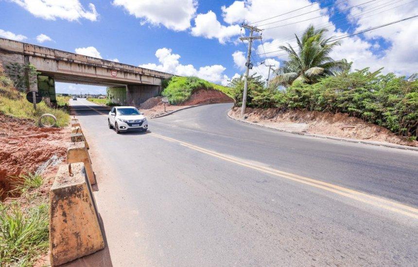 [Condutores ganham mais um acesso após intervenções no Viaduto da Cascalheira serem concluídas]