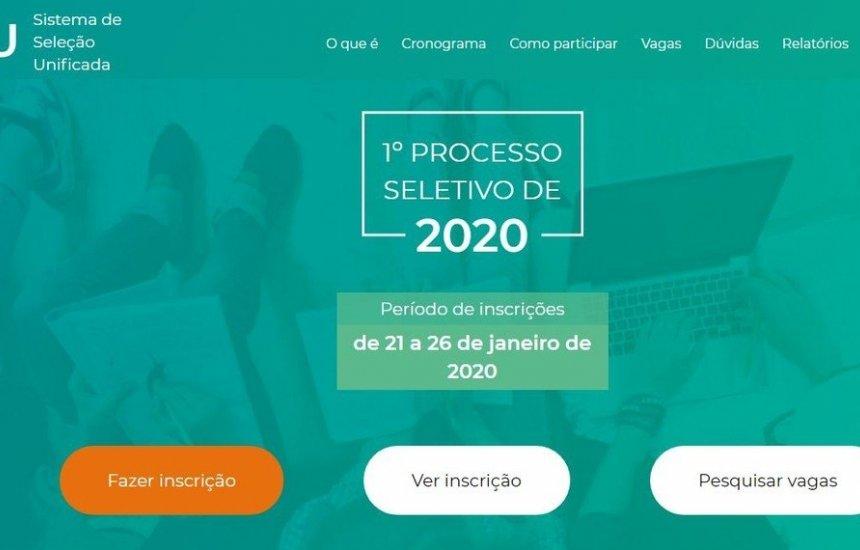 Inscrições para o Sisu 2020 são abertas; estudantes relatam lentidão