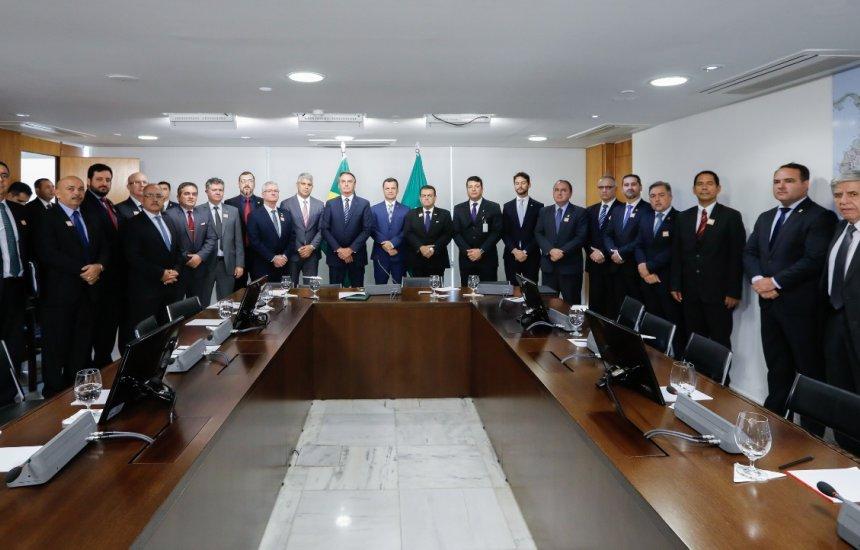 [Secretário de Segurança Pública se reúne com Bolsonaro e cobra repasse dos recursos]