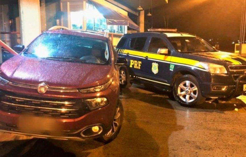 [Motorista é preso com caminhonete roubada e documento falso na Bahia]