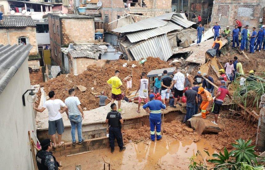 [Chuvas em Minas Gerais e no Espírito Santo já mataram 39 pessoas]