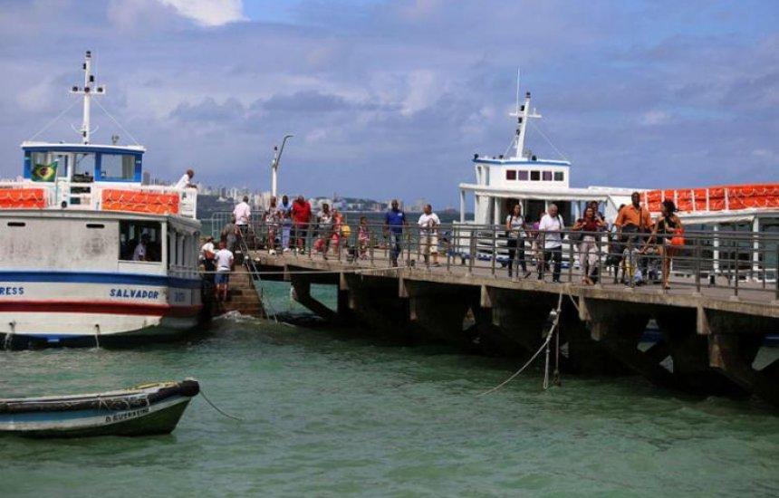 [Travessia Salvador-Mar Grande faz saídas a cada 15 minutos no retorno da Ilha]