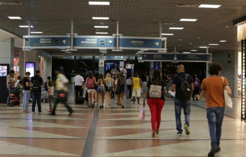 [Aeroporto de Salvador adota medidas de prevenção ao coronavírus]