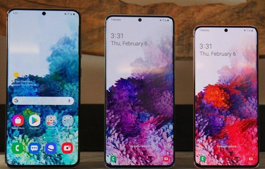 [Samsung lança três celulares da linha Galaxy S20; conheça]