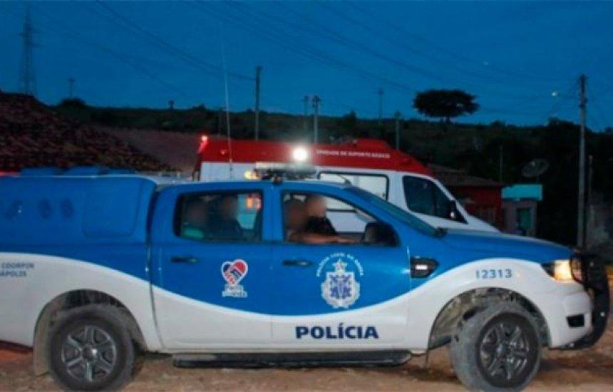 [Jovem é torturado pelo 'tribunal do crime' no interior da Bahia]