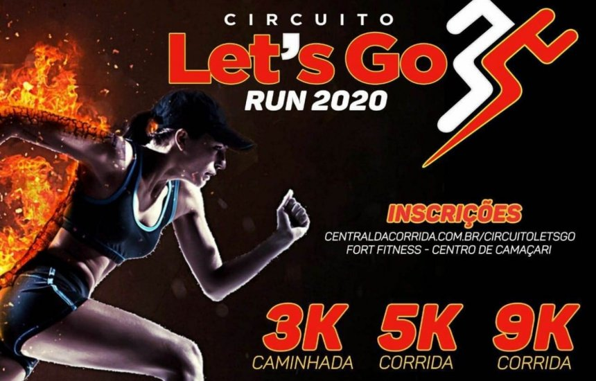 [10ª edição do Circuito Let´s Go Run acontece em Camaçari]