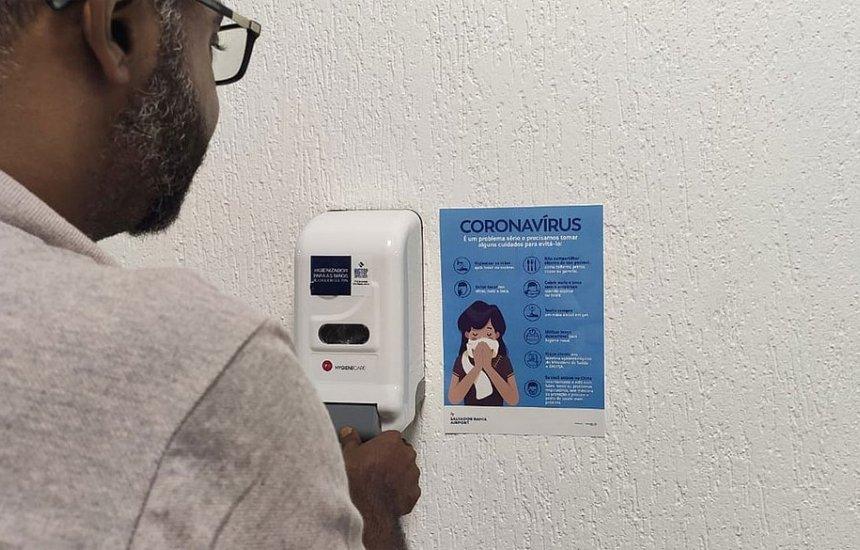[Aeroporto de Salvador e Anvisa apresentam plano contra o coronavírus]
