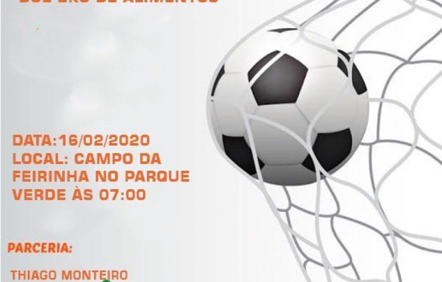 [I Futebol solidário acontece neste domingo no Parque Verde. Participe !]