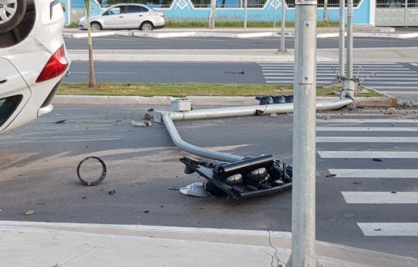 Prefeitura emite nota sobre acidente envolvendo carro da Secretaria de Saúde