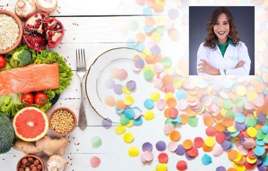 [Nutricionista dá dicas de como se alimentar durante o carnaval]