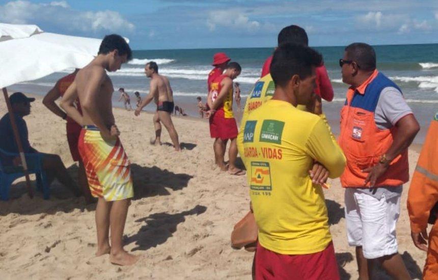 [Corpo de jovem desaparecido após tentar salvar adolescente em praia de Camaçari é encontrado]