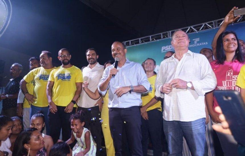 [PSDB oficializa apoio ao prefeito Elinaldo e filia novos nomes para a disputa eleitoral]