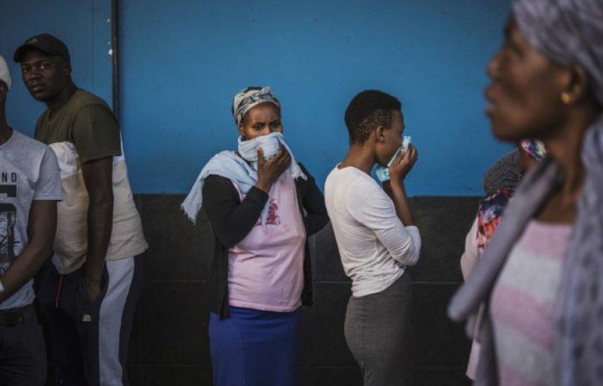 [África tem mais de 7 mil casos de covid-19 em 50 países]