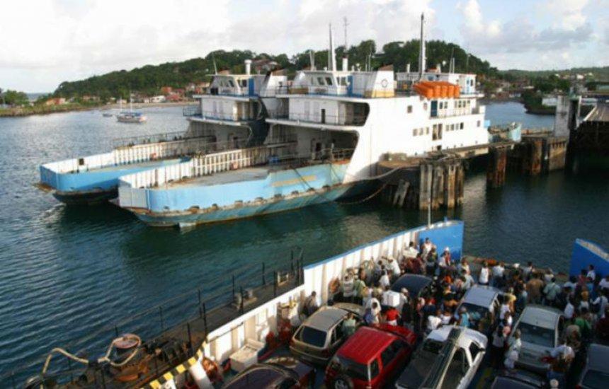 [Ferries e lanchas vão reduzir capacidade das embarcações para 50%]