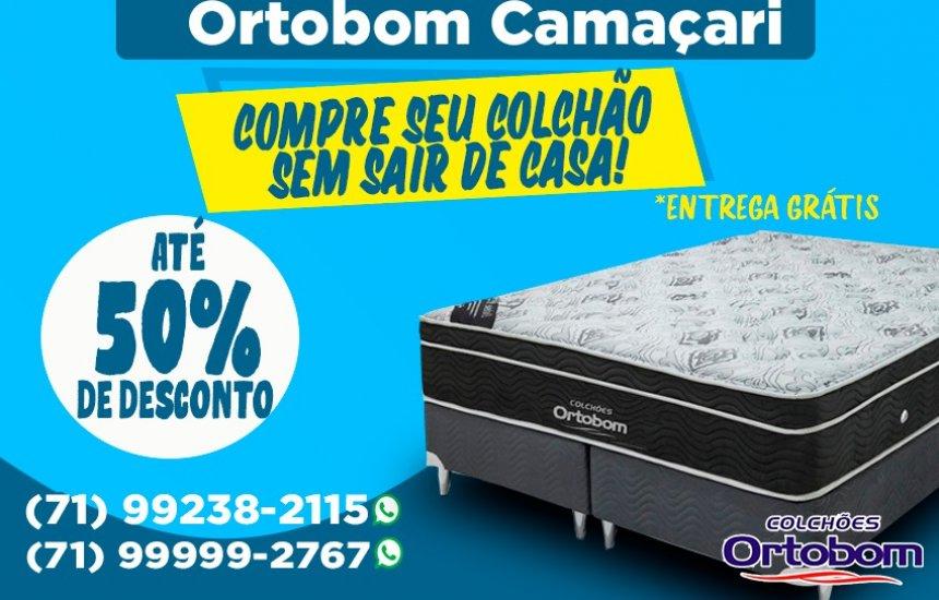 [Lojas Ortobom Camaçari tem atendimento virtual para seus clientes e entrega grátis!]