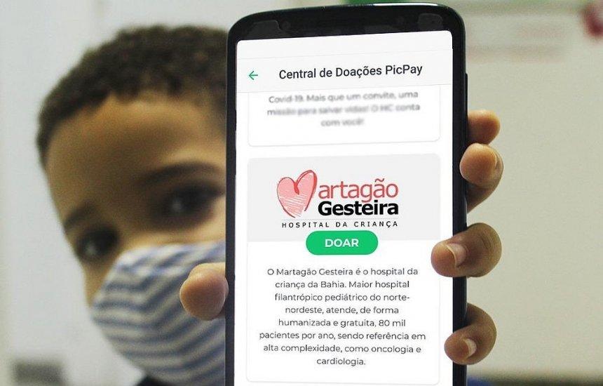 [Hospital Martagão Gesteira adere a nova ferramenta para receber doações; saiba como ajudar]