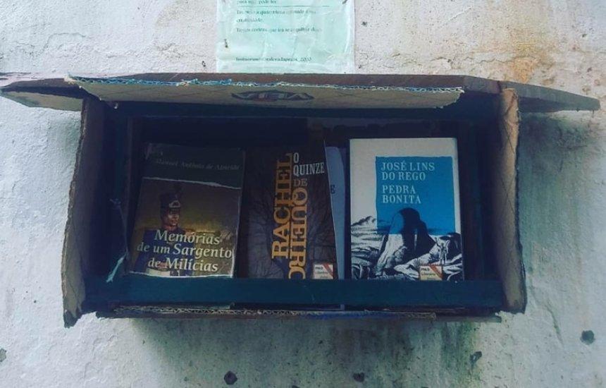 [Jovem morador de Arembepe cria projeto para estimular a leitura de crianças]