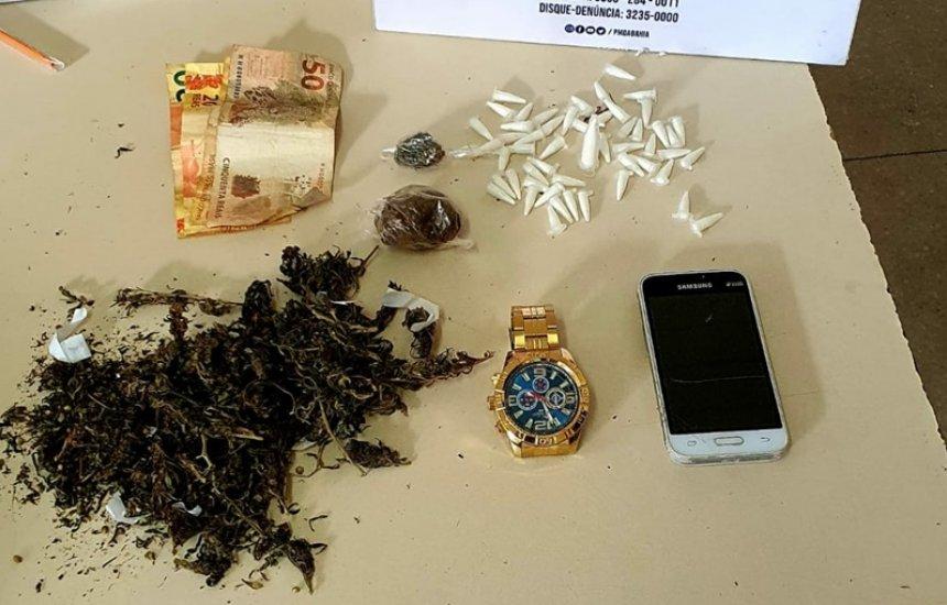 [Polícia prende homem com 52 pinos de cocaína no Jardim Brasília]