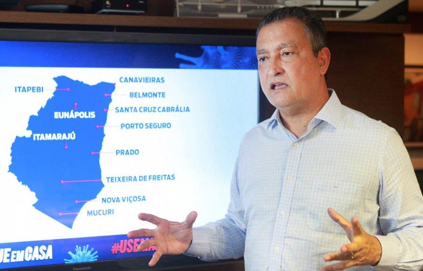 'Não acredito na volta do regime militar', diz governador Rui Costa