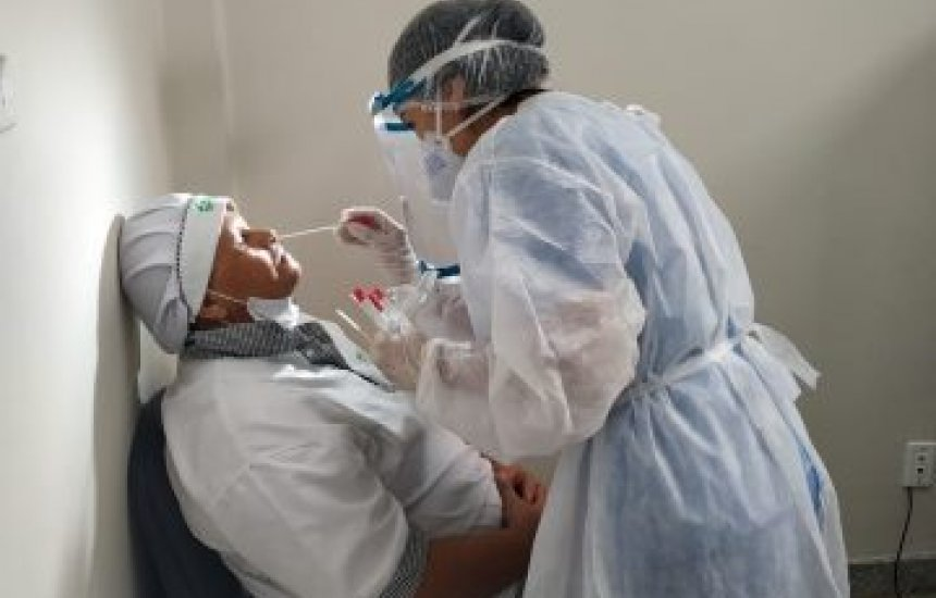 UPA de Jequié testa corpo profissional para Covid-19