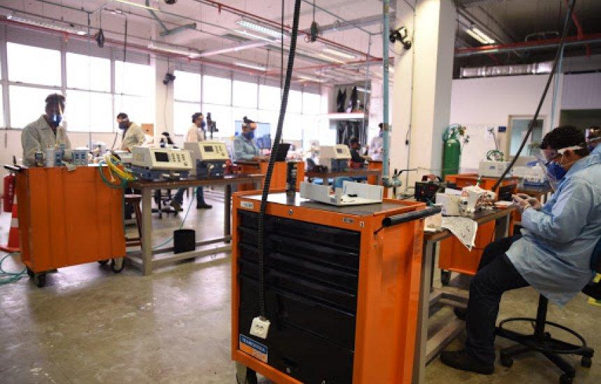 [Mais de 1.500 respiradores já foram reparados no país; na Bahia 209 equipamentos foram consertados]