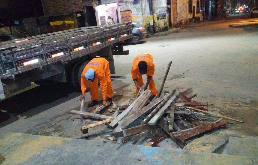 [Força-tarefa desmonta 39 fogueiras em bairros de Salvador]