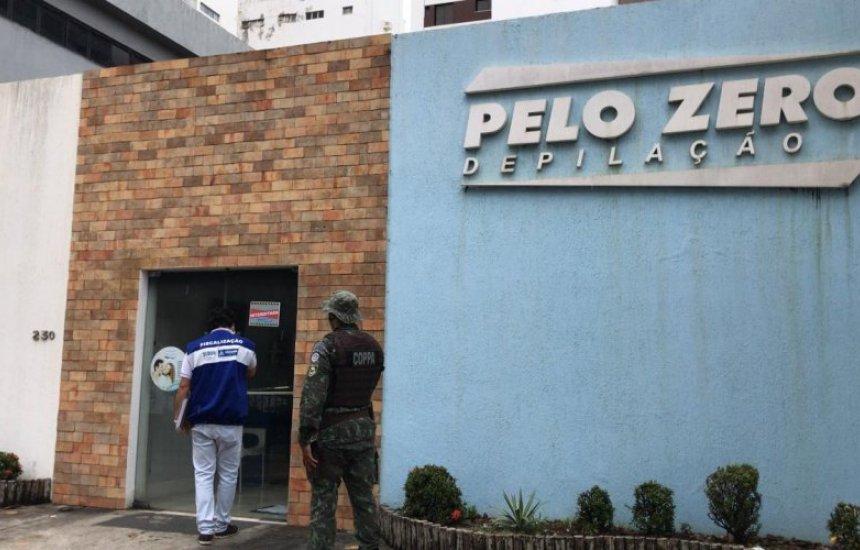 [Sedur interdita clínica de depilação após festa entre funcionários em Salvador]