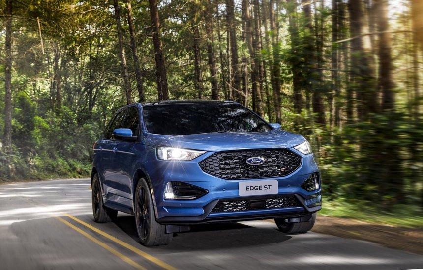 [Cinco curiosidades que fazem do Ford Edge ST um carro fora de série]