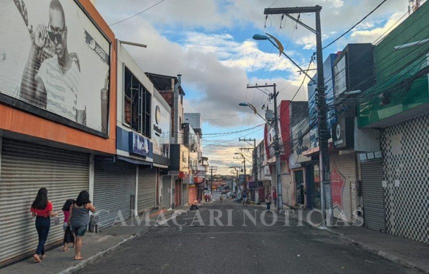 [Reabertura do comércio em Camaçari é adiada; medidas são prorrogadas por 15 dias]