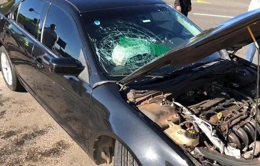 [Carro do comboio presidencial se envolve em acidente na frente do Palácio do Planalto]