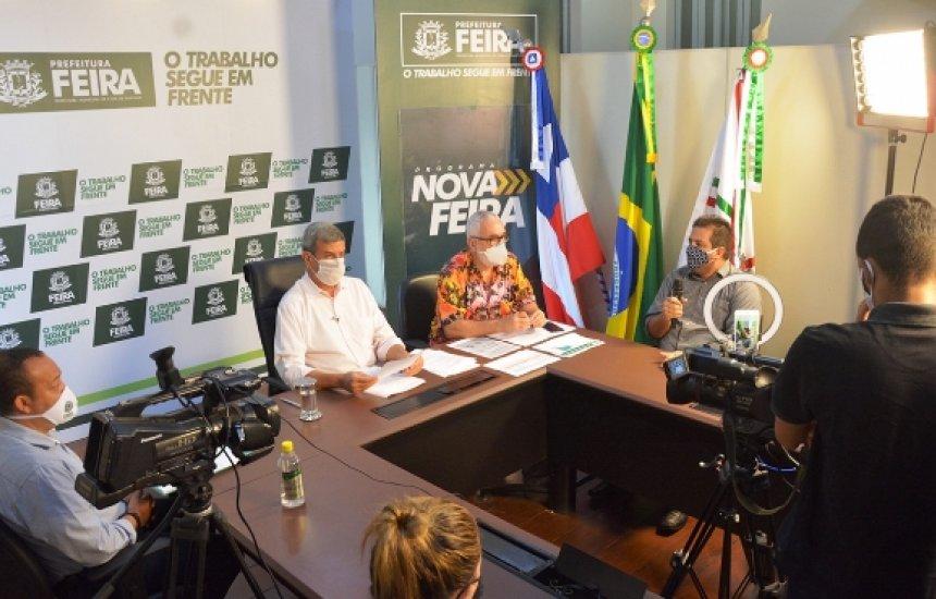 [Prefeitura de Feira de Santana pede que o Governo do Estado envie hidroxicloroquina]