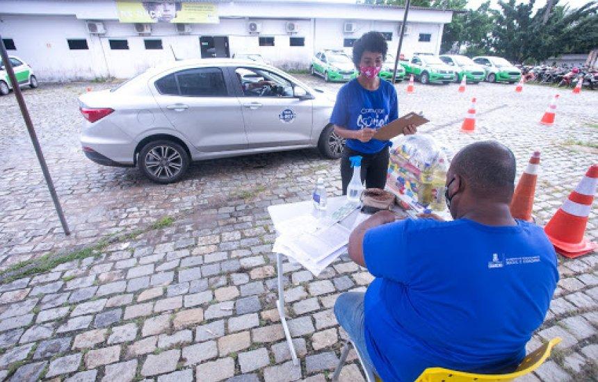 Nova etapa de distribuição de cestas vai contemplar profissionais de transporte de Camaçari