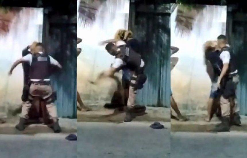 [Ministério Público denuncia três PMs por crime de tortura durante abordagem contra adolescente]