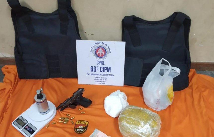 [Polícia prende trio que ostentava armas e munições no WhatsApp]